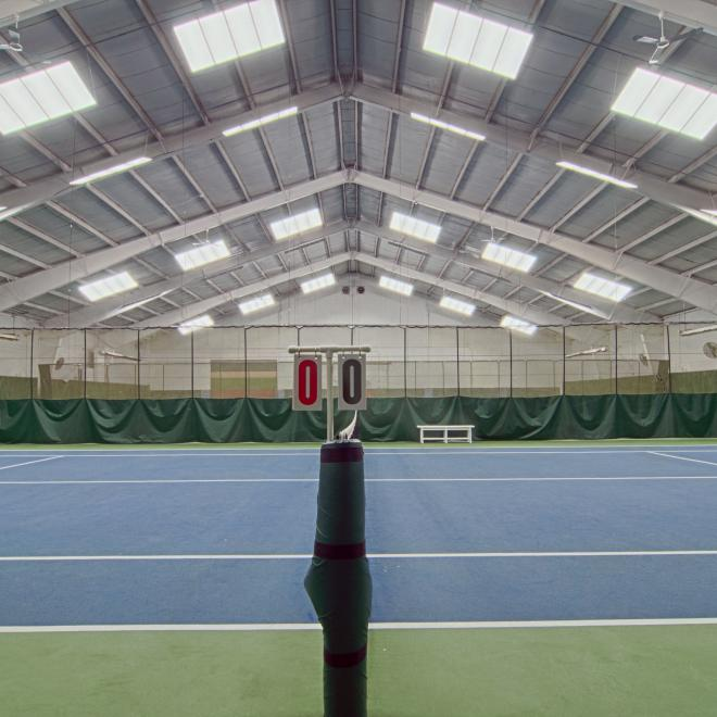 New tennis club lighting